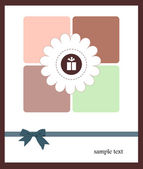 A nice card for your holiday — Vector de stock