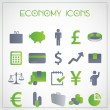 Vector de stock : Economy icons