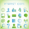 Internet icons — Stockvectorbeeld