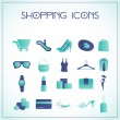 Shopping icons — Stock Vector #16258991