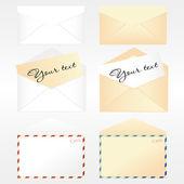 Coleção de envelopes — Vetorial Stock