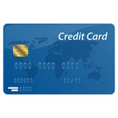 Vetor cartão de crédito — Vetorial Stock