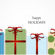 Holiday gifts — Stockvector #16868441