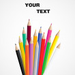 Vector pencils — Stock Vector #16868713