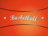 Basketball texture — Vettoriale Stock