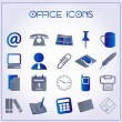 Office icons — Stok Vektör #16957777