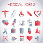 Icônes médicales — Vecteur