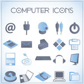 Computer icons — Wektor stockowy