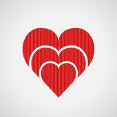 εικονίδιο καρδιά — Διανυσματικό Αρχείο