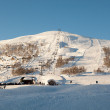 Winterland in Norway — Stock Photo