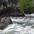 Rivers and waterfalls in Norway — Stock Photo #13257111