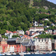Summer in Bergen, Norway — Stock Photo