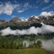 Stock Photo: Hochtor Pass from Zell Am See