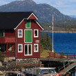 Stock Photo: Norwegiboat-house