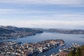 Bergen Harbour — Stock Photo