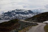 Old mountain pass — Stockfoto
