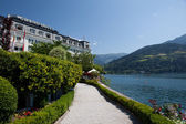 Grand hotel v zell am viz — Stock fotografie
