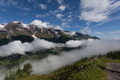 Hochtor Pass from Zell Am See — Stock Photo