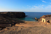 Playa El Papagayo, Lanzarote — Stock Photo