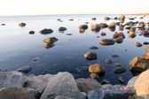 Stones In Water — Stock Photo