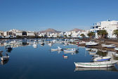 The marina in Arrecife — Stock Photo