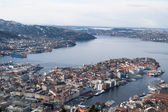 Bergen, the old Hanseatic town — Stock Photo