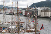 Tall Ship Races Bergen, Norway 2008 — Stock Photo