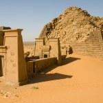 Pyramiden von Meroe Sudan — Stock Photo #13176207