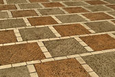 Mosaic from paving slabs — Stock Photo