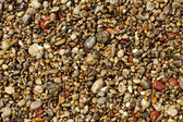 Multicolored sea pebbles — Stock Photo