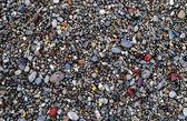 Multicolored sea pebbles — Stock Photo