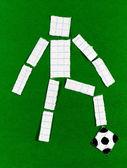 Man's figure — Stock Photo