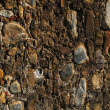 A wall of stones — Stock Photo