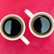 Stock Photo: Two cups of coffee
