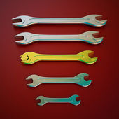 Wrench tool — Stock Photo