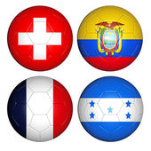 World cup 2014 group E — Stock Photo