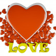 Stock Photo: Love & hearts