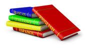 Language textbooks — Stock Photo