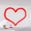 Red heart — Stock Photo #50799807