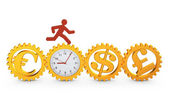 Zegar — Zdjęcie stockowe