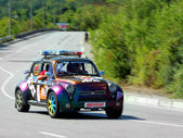 Safety Car on IRC PRIME Yalta Rally 2012 — Stock Photo