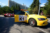 Safety Cars on IRC PRIME Yalta Rally 2012 — Stockfoto