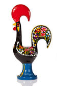 The Galo de Barcelos (Barcelos Rooster), the unofficial symbol of Portugal for justice and freedom based in a medieval tale. — Stock Photo