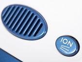 Ionic air purifier filter close up macro — Stock Photo
