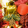 Background made of various ornament for the Christmas - Stock Photo