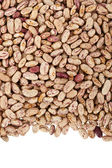 Pinto beans or mottled beans arranged in a frame — Stock Photo