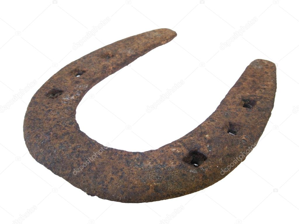Old horseshoe — Stock Photo #13318103