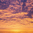 Incredible sunrise or sunset sky with clouds — Stock fotografie