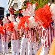 Bateria section in the Brazilian Carnival — Stock Photo #40375659