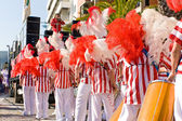 Bateria avsnitt i brasilianska karnevalen — Stockfoto